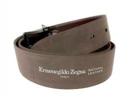 Ремень кожаный брендовый Ermenegildo Zegna 1472_4