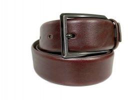 Ремень кожаный брендовый Ermenegildo Zegna 1472_1