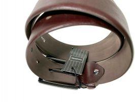 Ремень кожаный брендовый Ermenegildo Zegna 1472_3