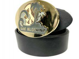 Ремень кожаный брендовый Moschino Love 1474_3