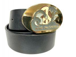 Ремень кожаный брендовый Moschino Love 1474_2
