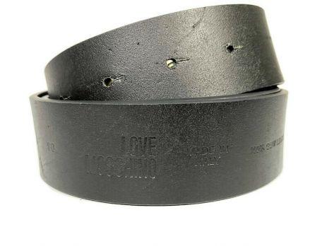 Ремень кожаный брендовый Moschino Love 1474