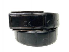 Ремень кожаный брендовый Calvin K 1475_0
