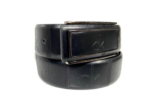 Ремень кожаный брендовый Calvin K 1475
