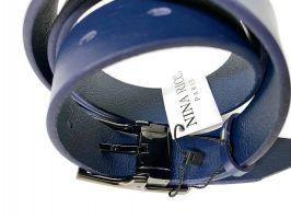 Ремень кожаный брендовый Nina Ricci 1476_3