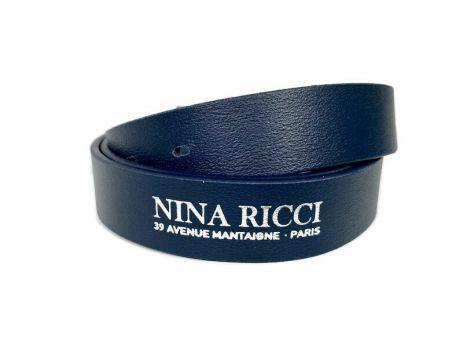 Ремень кожаный брендовый Nina Ricci 1476