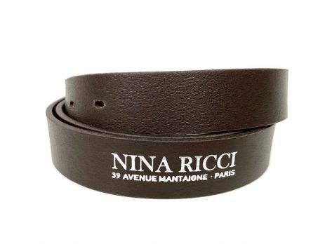Ремень кожаный брендовый Nina Ricci 1477