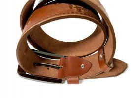 Кожаный ремень брендовый Hermes 1490_4