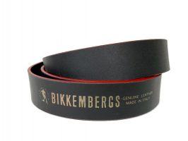 Ремень кожаный брендовый Dirk Bikkembergs 1491red_4