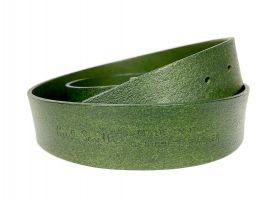 Ремень кожаный брендовый Paul Smith 1492 green_5
