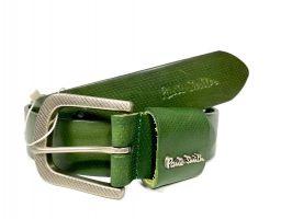 Ремень кожаный брендовый Paul Smith 1492 green_3