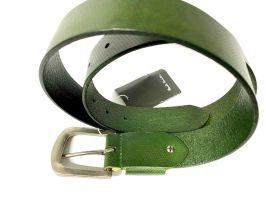 Ремень кожаный брендовый Paul Smith 1492 green_4