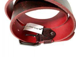 Ремень кожаный брендовый Salvatore Ferragamo 1494_3