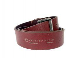Ремень кожаный брендовый Philipp Plein 1505_4