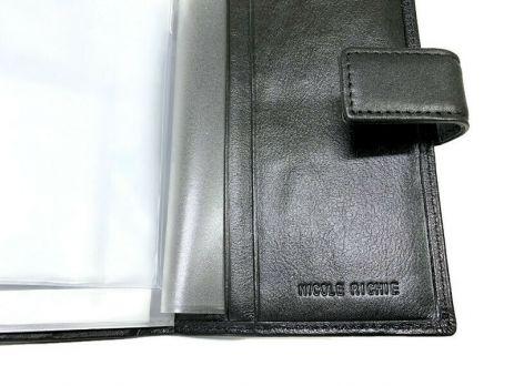 Обложка на паспорт и автодокументы Nicole Richie 5173 black