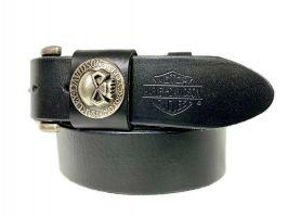 Ремень кожаный брендовый Harley Davidson 1519_2