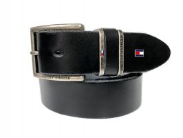 Кожаный брендовый ремень Tommy Hilfiger 1523_0