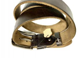 Ремень кожаный брендовый Levis 1532 brown_3