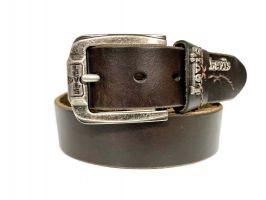 Ремень кожаный брендовый Levis 1532 brown_1