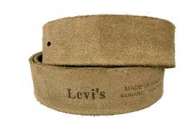 Ремень кожаный брендовый Levis 1532 brown_4