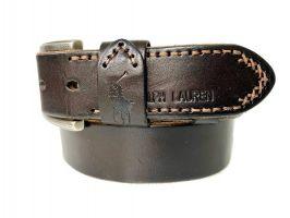 Ремень брендовый Ralph Lauren 1534 brown_2