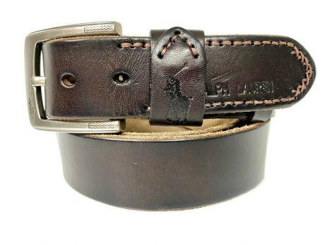 Ремень брендовый Ralph Lauren 1534 brown