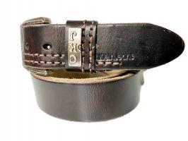 Ремень брендовый Calvin K jeans 1536 brown_2