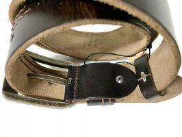 Ремень брендовый Calvin K jeans 1536 brown_3