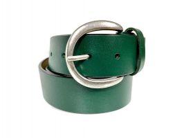 Ремень кожаный женский 1539 green_1