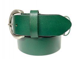 Ремень кожаный женский 1539 green_2