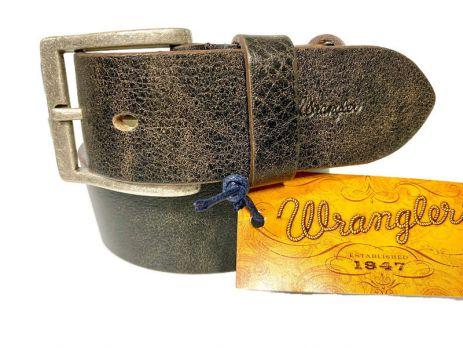 Ремень брендовый кожаный Wrangler 1543