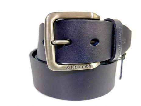 Ремень кожаный брендовый Columbia blue 1544