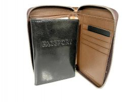 Кошелёк кожаный на молнии Jancarlo Baretti 8859_5