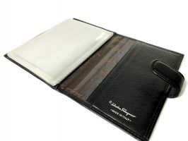 Обложка на паспорт и автодокументов Salvatore Ferragamo 8087 A_3