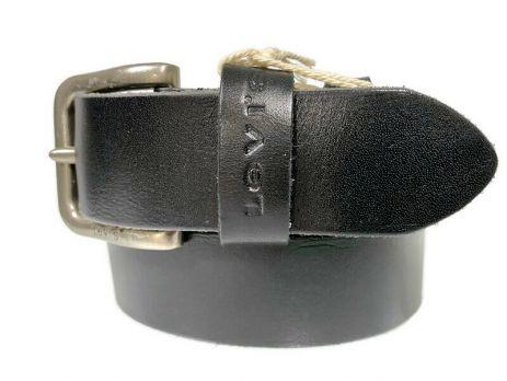 Кожаный ремень Levis 1580 black