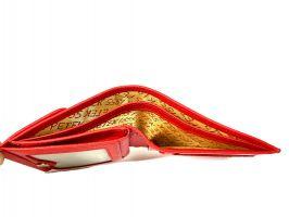 Кошелек женский кожаный Petek 8076 Red_6