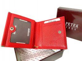 Кошелек женский кожаный Petek 8076 Red_1