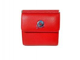 Кошелек женский кожаный Petek 8076 Red_3