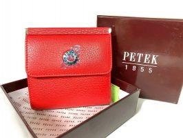 Кошелек женский кожаный Petek 8076 Red_0