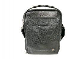 Мужская кожаная сумка Heanbag 409-2H black