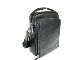 Мужская кожаная сумка Heanbag 409-2H black_1