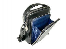 Мужская кожаная сумка Heanbag 409-2H black_2