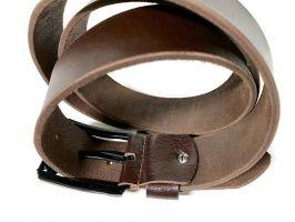 Кожаный ремень Diesel brown 1606_3