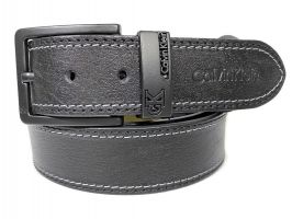 Ремень кожаный Ck jeans 1622_0