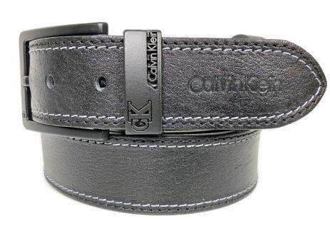 Ремень кожаный Ck jeans 1622