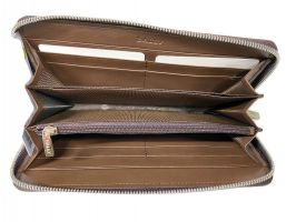 Кожаный клатч Bally 8874 brown_6