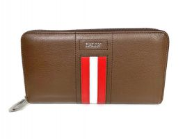 Кожаный клатч Bally 8874 brown_1