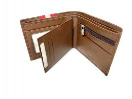Кошелек кожаный Bally 8871 brown_3