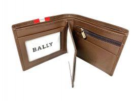 Кошелек кожаный Bally 8871 brown_2
