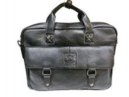 Портфель мужской кожаный Fuzhiniao 66606 black